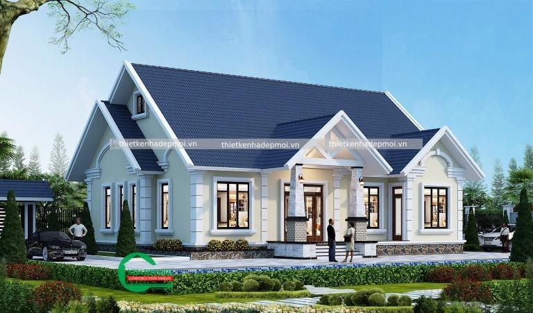 nhà mái thái phong cách phương Tây