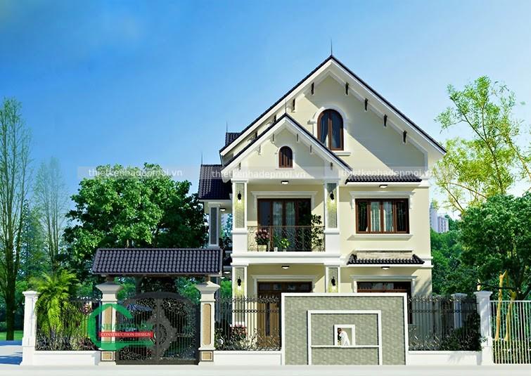 Thiết kế biệt thự vườn 11x20m tại Bình Phước