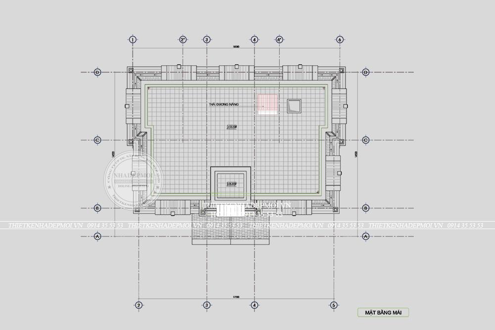 biệt thự tân cổ điển 1 hầm 2 lầu 1