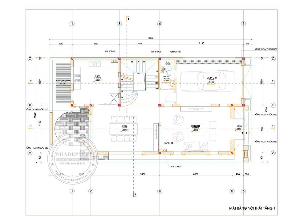 Thiết kế nhà đẹp hiện đại