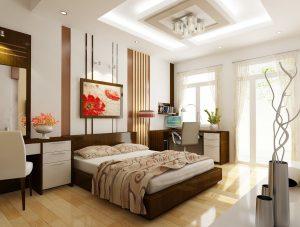 diện tích phòng ngủ hợp lý