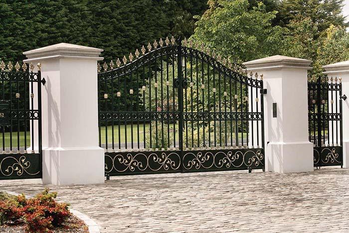 lễ mở cổng nhà