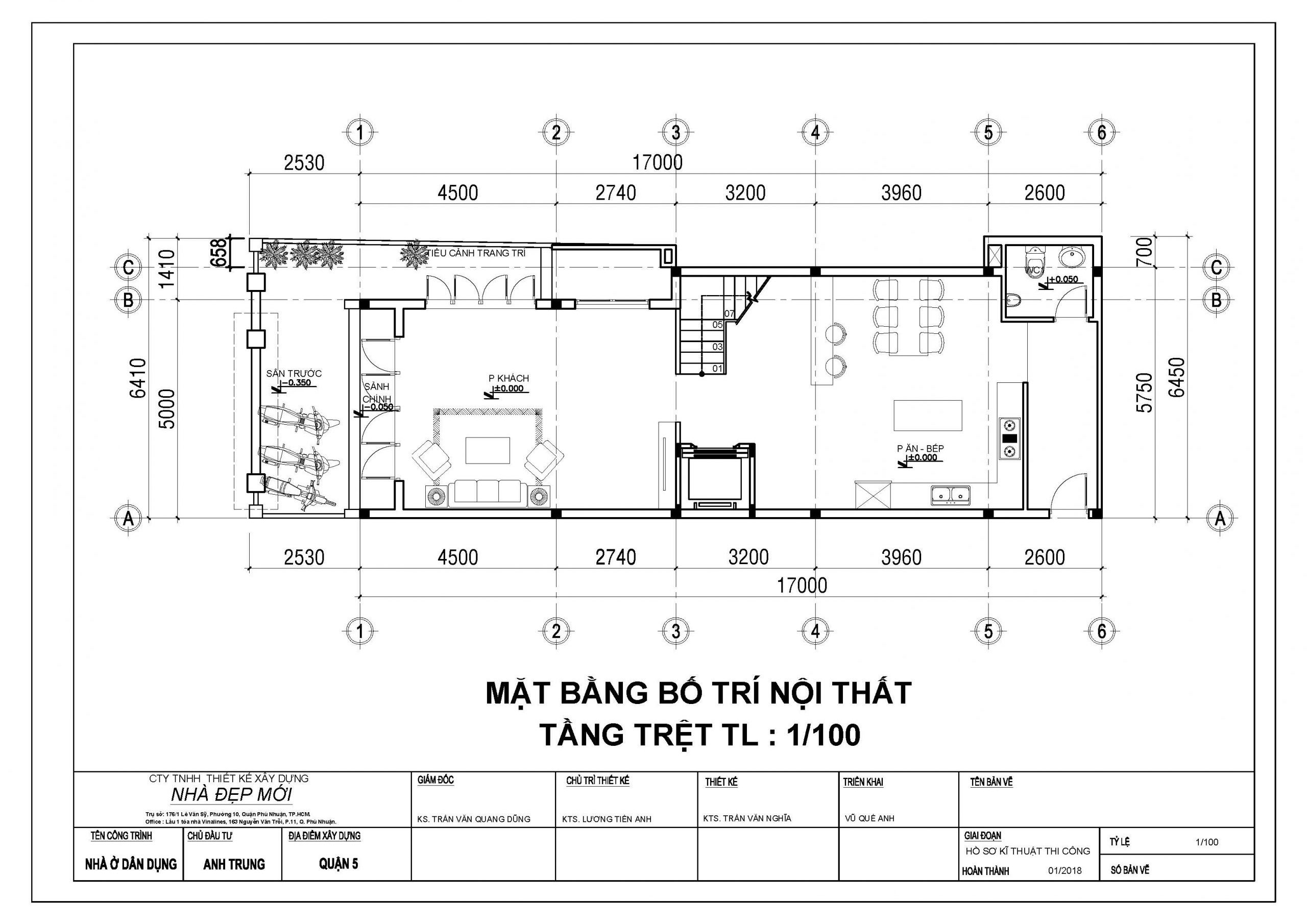 Mẫu nhà phố mái thái 3 tầng-2
