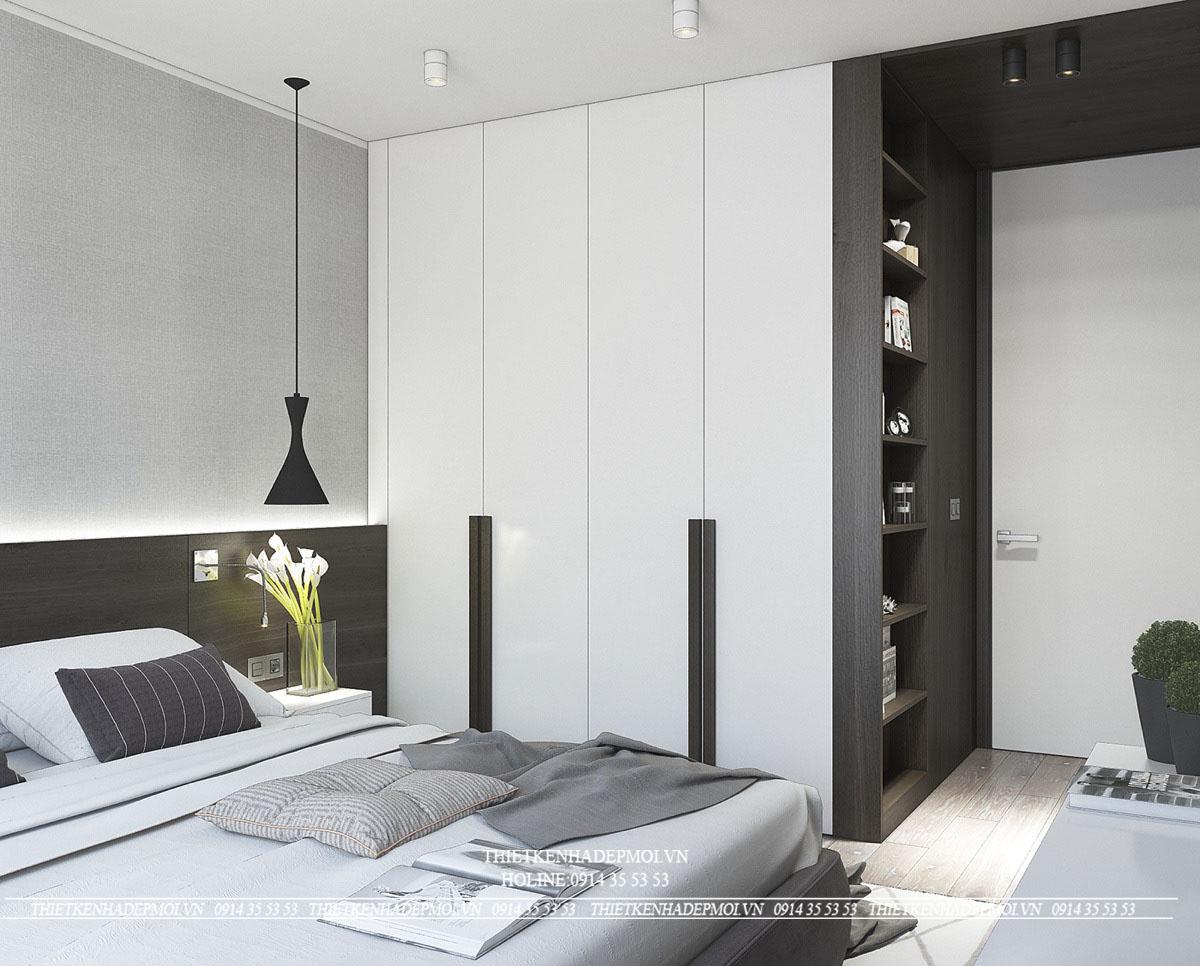 Thiết kế nhà hiện đại 4 tầng-1