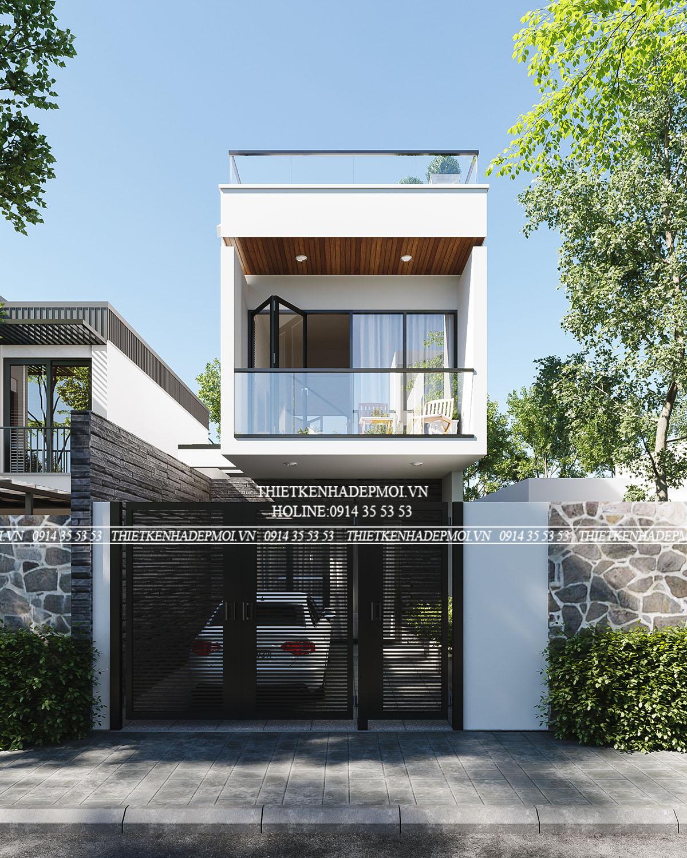 Thiết kế nhà đẹp 3 tầng-5