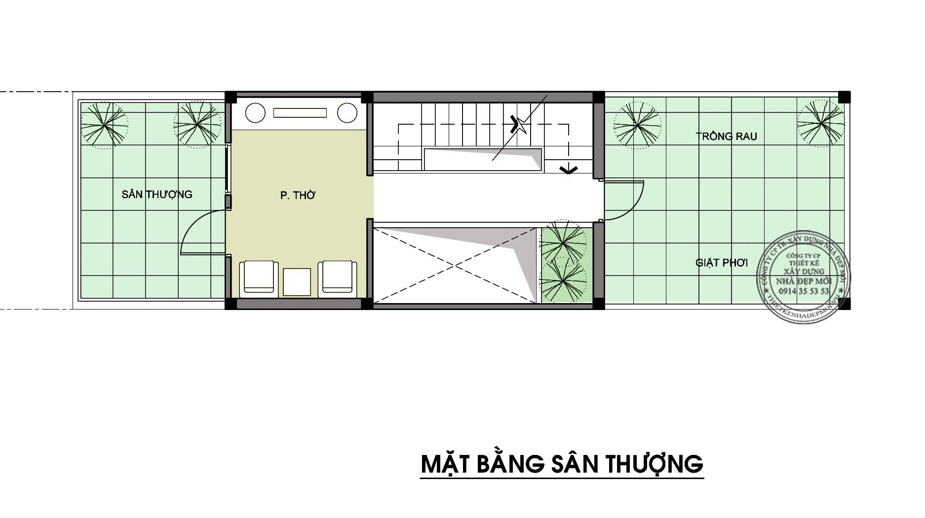 Thiết kế nhà đẹp 3 tầng-4