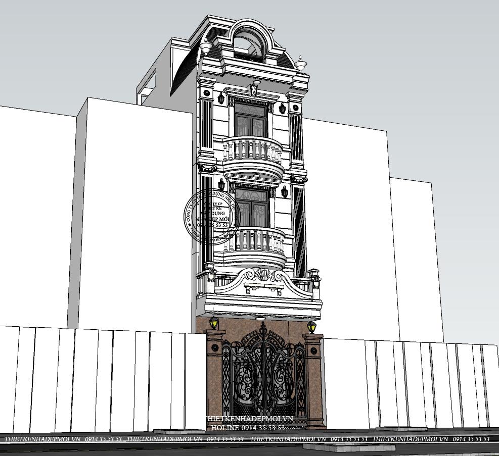 mẫu nhà phố đẹp-2