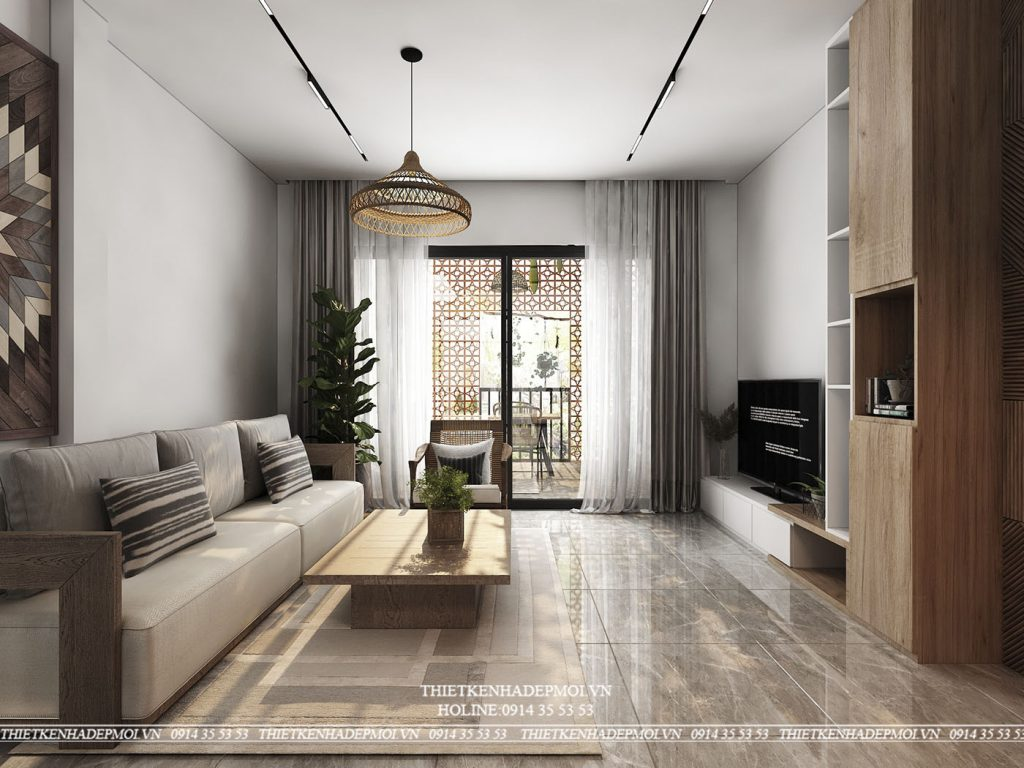 nội thất nhà phố hiện đại độc đáo