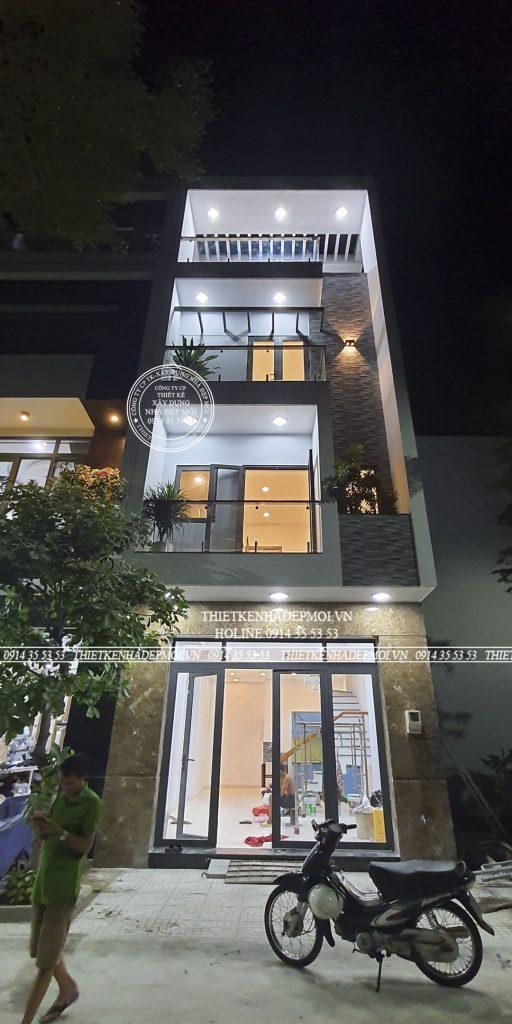 nhà phố hiện đại đơn giản đẹp