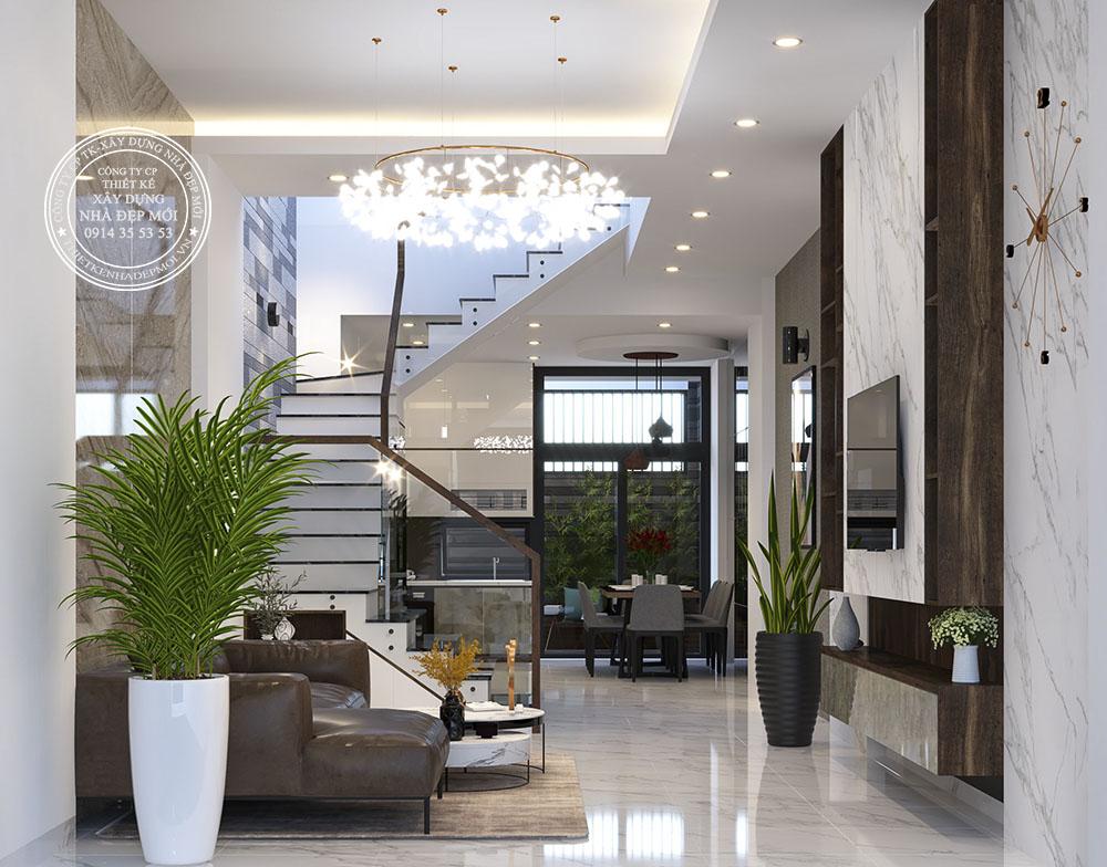 nội thất nhà phố hiện đại