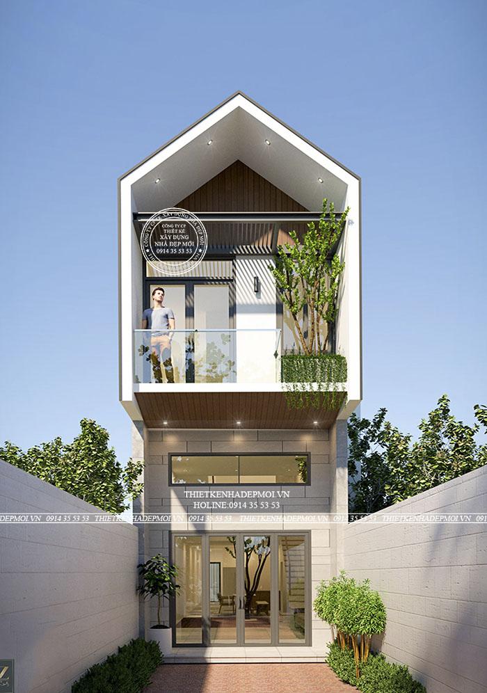 thiết kế nhà phố 2021
