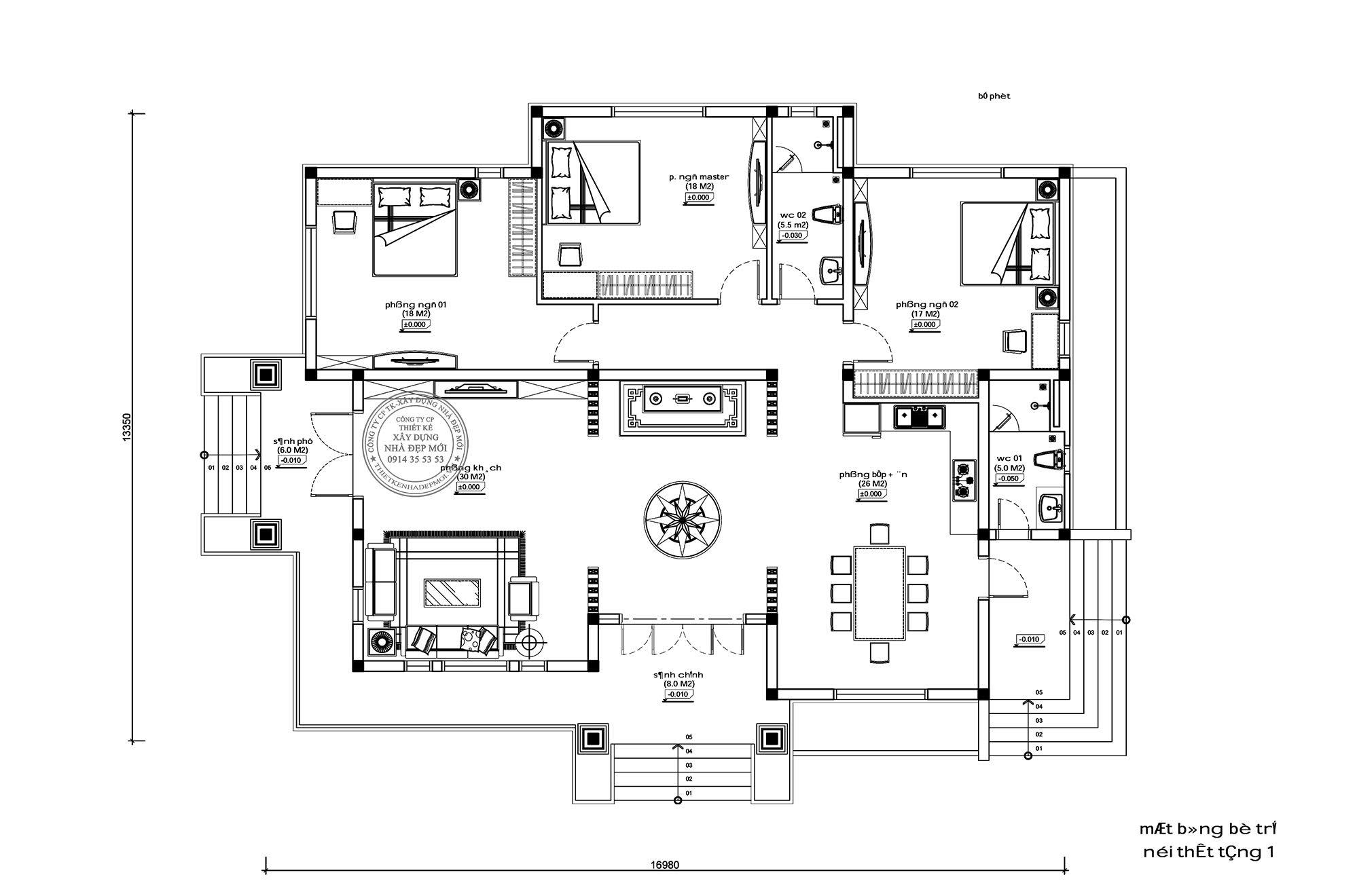 Thiết kế nhà thái sân vườn