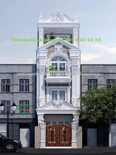 mẫu nhà phố đẹp năm 2021