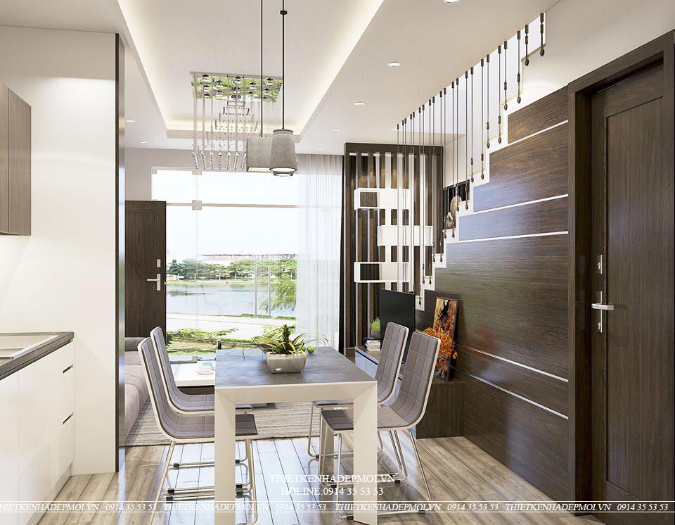 mẫu nội thất nhà phố hẹp