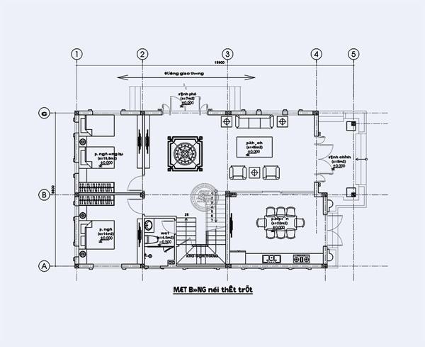 Thiết kế các viền chỉ cửa tinh tế, hiện đại của biệt thự mái thái