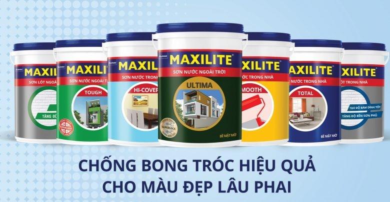 Maxilite là dòng sơn sử dụng công nghệ tiên tiến SuperLock