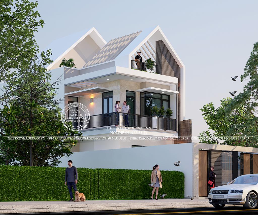 Thiết kế nhà đẹp của Chị Thúy