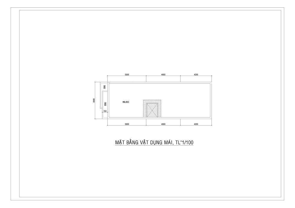 mẫu Nhà 1 trệt 1 lầu
